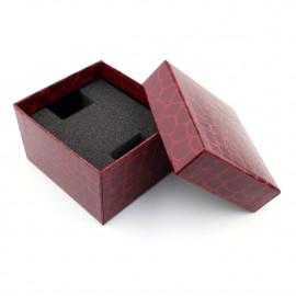 Eleganckie pudełeczko na ZEGAREK SKÓRA WĘŻA
