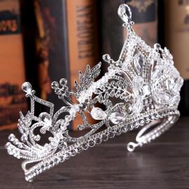 Diadem królewski ROYAL EXCLUSIVE kryształy górskie i austrian crystals